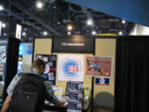 Electronics Technicians Association International booth