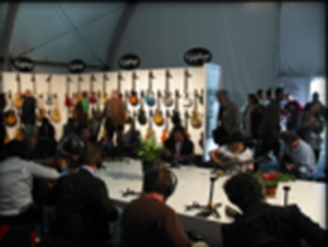 Gibson Guitar Booth